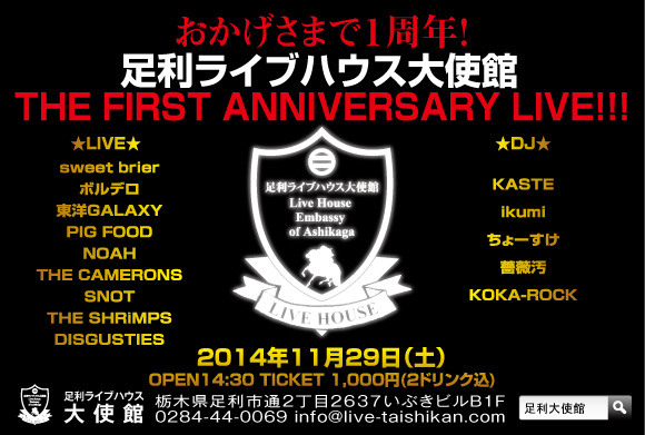 141129_THE FIRST ANNIVERSARY LIVE